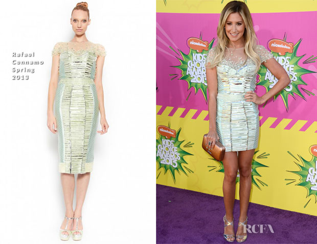 Ashley Tisdale In Rafael Cennamo - 2013 Nickelodeon Kids' Choice Awards