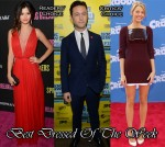 Best Dressed Of The Week - Selena Gomez In Reem Acra, Joseph Gordon-Levitt In Prada & Blake Lively In Marios Schwab