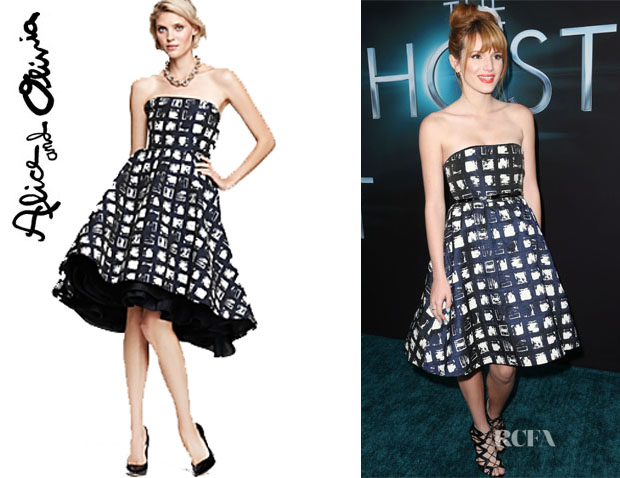 Bella Thorne's Alice + Olivia A-Line Dress