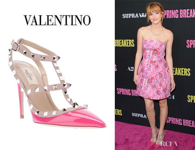 Bella Thorne's Valentino 'Rock Stud' Sandals