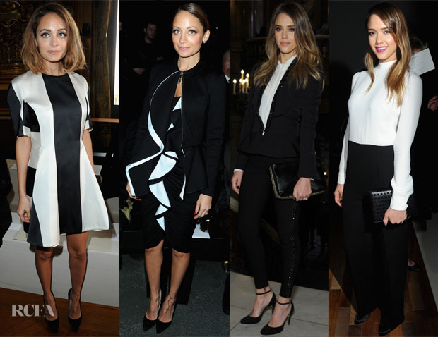 Black and White Celebrity Trend