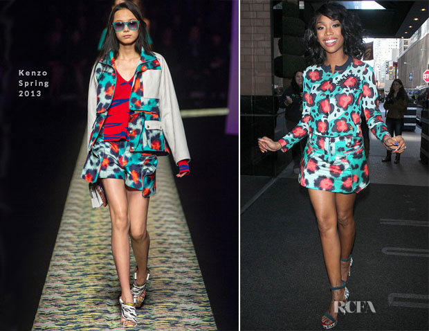 Brandy Norwood In Kenzo - The Wendy Williams Show