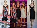 Candice Swanepoel, Karlie Kloss & Alessandra Ambrosio - Victoria's Secret 2013 Swim Collection Party
