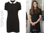 Catherine, Duchess of Cambridge's Topshop Contrast Collar Shift Dress