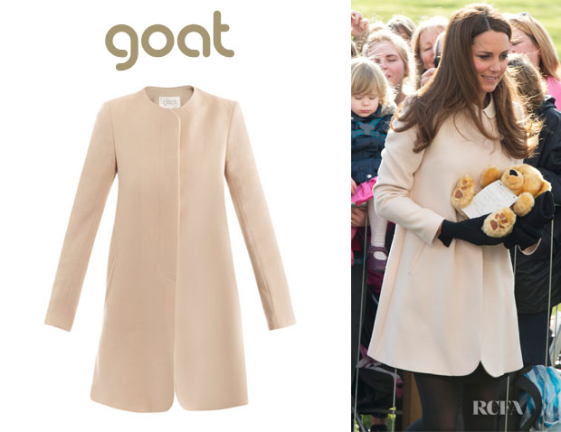 Catherine, Duchess of Cambridge's Goat 'Redgrave' Summer Coat