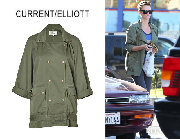 Charlize Theron's CurrentElliott 'Infantry' Jacket