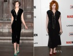 Christina Hendricks In L'Wren Scott - 'Mad Men' Season 6 Premiere