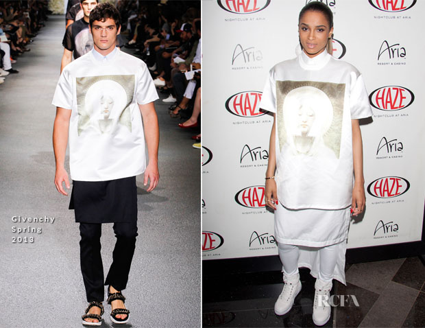 Ciara In Givenchy - Haze Nightclub