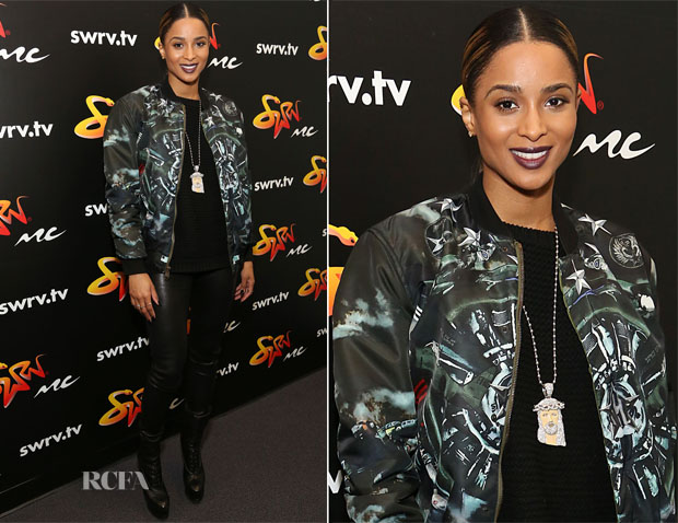 Ciara In Givenchy - Music Choice's SWRV TV Network