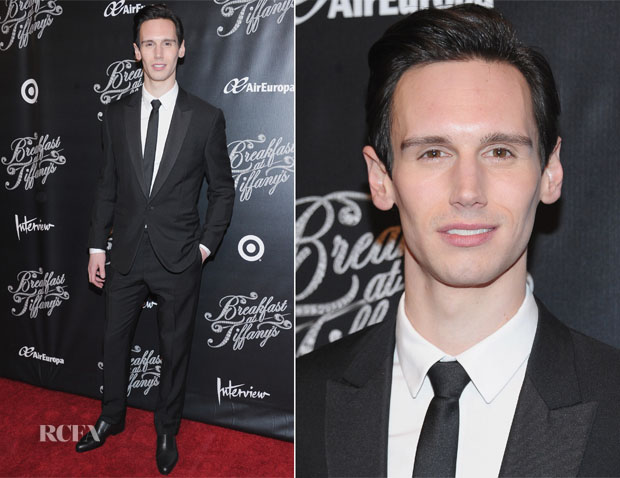 Cory Michael Smith In Balenciaga - 'Breakfast At Tiffany's' Broadway Opening Night