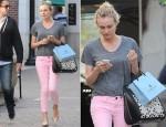 Diane Kruger's Alexander McQueen 'Heroine' Bag