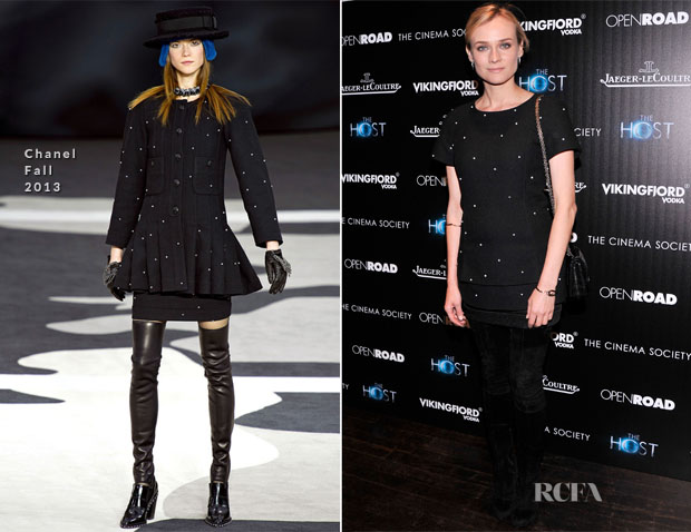 Diane Kruger In Chanel - 'The Host' New York Premiere