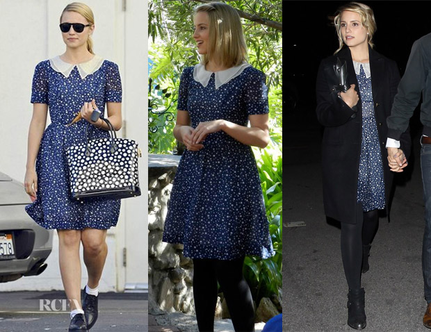 Dianna Agron Loves Her Ani Lee 'Andy' Dress