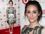 Emmy Rossum In Topshop - iHeartRadio '20/20' Album Release Party With Justin Timberlake