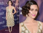 Emmy Rossum In Tory Burch - 21st Annual 'A Night At Sardi's' Gala