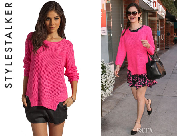 Emmy Rossum's Style Stalker 'Moon Base' Sweater