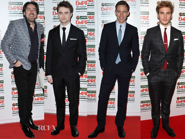 Jameson Empire Awards 2013 Menswear Red Carpet Round Up