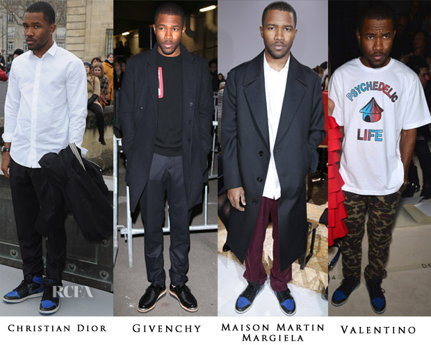 Frank Ocean Fashion Week