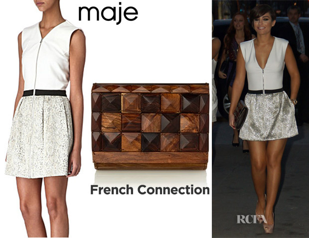 Frankie Sandford Maje & French Connection