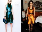 Freida Pinto In Proenza Schouler - Net-A-Porter & Proenza Schouler Exclusive Capsule Collection Dinner Party Launch