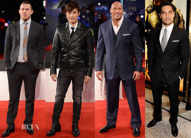 GI JOE London premiere menswear