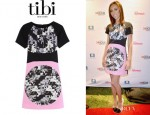 Giuliana Rancic's Tibi 'Arel' Paneled Dress