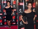 Halle Berry In Helmut Lang - 'The Call' Chicago Premiere