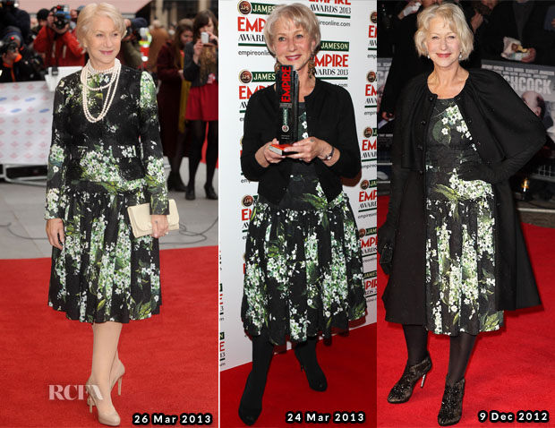 Helen Mirren In Dolce & Gabbana (Again) - Prince's Trust Celebrate Success Awards