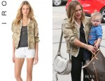 Hilary Duff's IRO 'Jeffry' Bomber Jacket