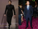 James Franco In Gucci - The Tonight Show with Jay Leno & 'Spring Breakers' LA Premiere