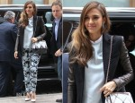 Jessica Alba In Michael Kors - Out In New York City