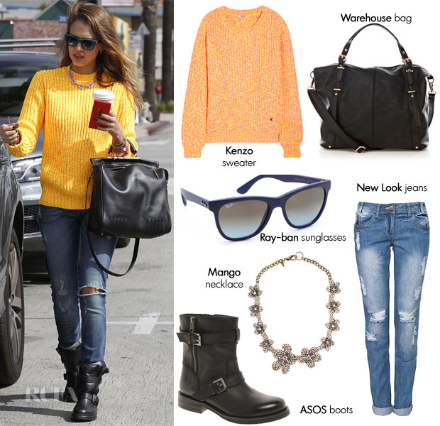 Jessica Alba Steal Her Style