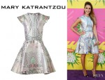 Jessica Alba's Mary Katrantzou 'Lella' Dress