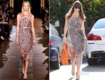 Jessica Biel In Stella McCartney - Out In West Hollywood