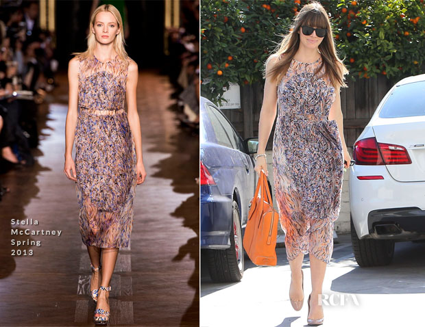 Jessica Biel In Stella McCartney