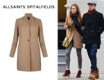 Jessica Biel's All Saints 'Nikol' Coat