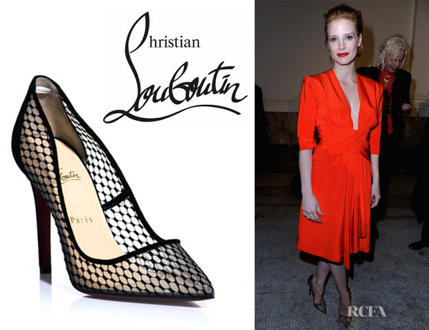 Jessica Chastain's Christian Louboutin 'Pigaresille' Pumps