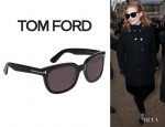Jessica Chastain's Tom Ford Eyewear 'Campbell' Sunglasses