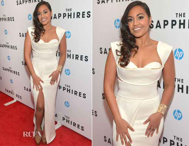 Jessica Mauboy In Galanni - 'The Sapphires' New York Screening
