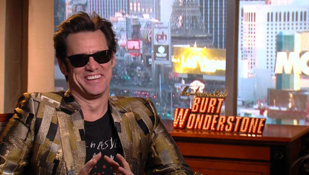 Jim Carrey In Alexander McQueen - 'The Incredible Burt Wonderstone' Press Junket