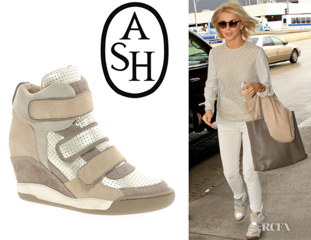 Julianne Hough's Ash 'Alex Bis' Wedge Sneakers