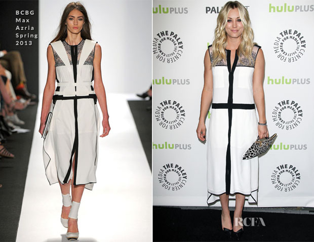 Kaley Cuoco In BCBG Max Azria - PaleyFest 2013 Honouring 'The Big Bang Theory'