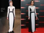 Kasia Smutniak In Alberta Ferretti - 'In Treatment' Rome Premiere