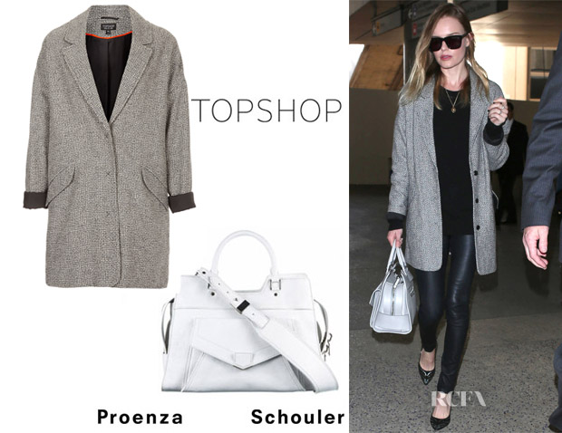 Kate Bosworth Topshop Coat