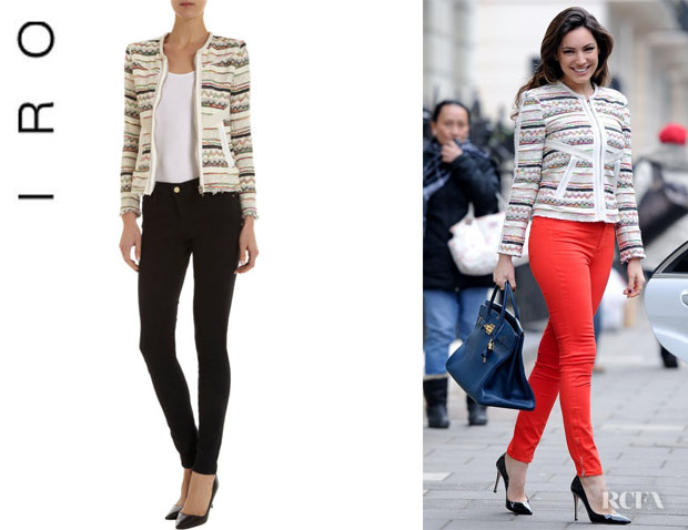 Kelly Brook's IRO 'Elom' Jacket