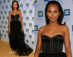 Kerry Washington In Jason Wu - Human Rights Campaign Los Angeles Gala Dinner