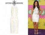 Khloe Kardashian's Antonio Berardi Paneled Dress