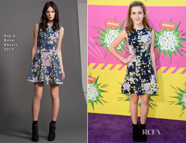 Kiernan Shipka In Rag & Bone - 2013 Nickelodeon Kids' Choice Awards