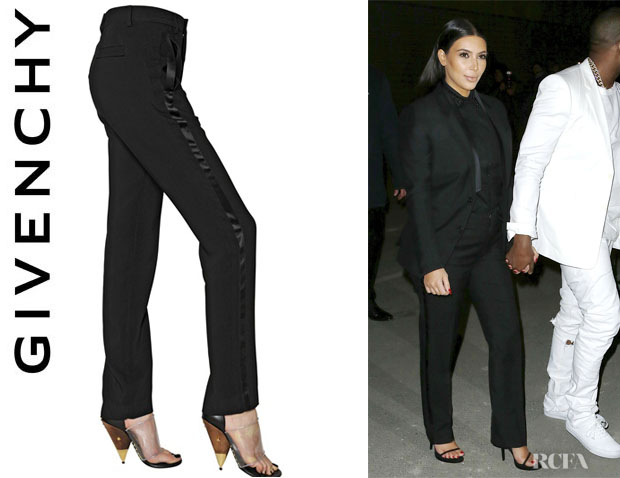 Kim Kardashian's Givenchy Stretch Trousers