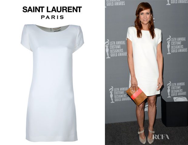 Kristen Wiig's Saint Laurent Shift Dress
